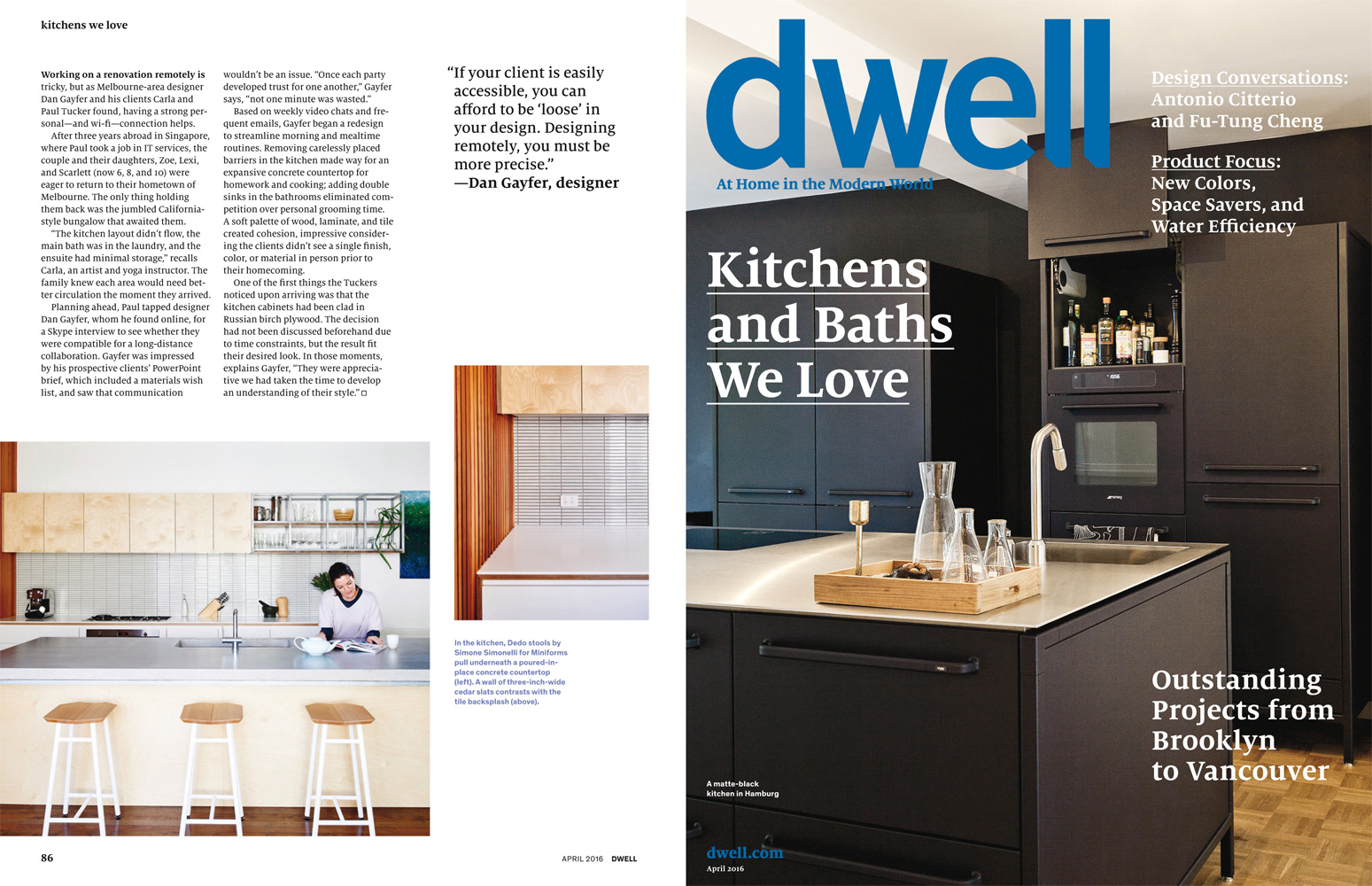... Dwell Magazine Kitchens Kitchen Appliances Tips And Review ...